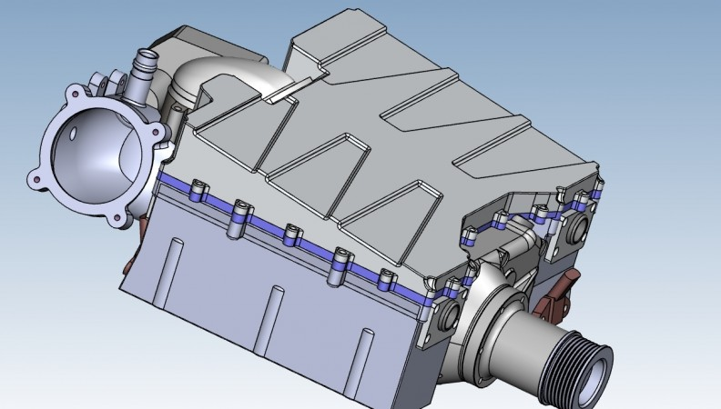 CAD front left
