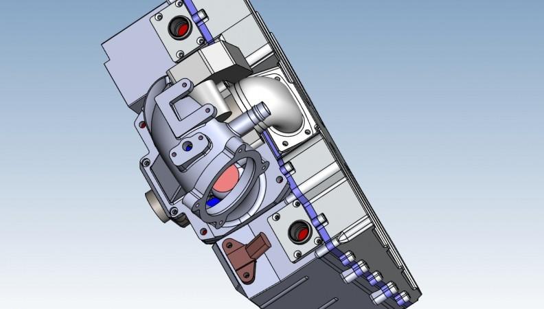 CAD rear left