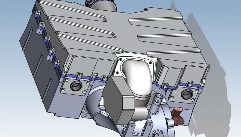 CAD rear upper