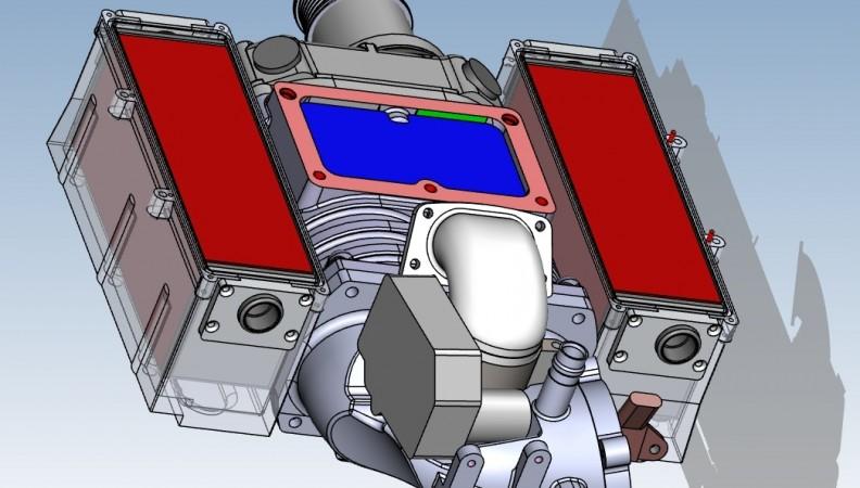 CAD rear open